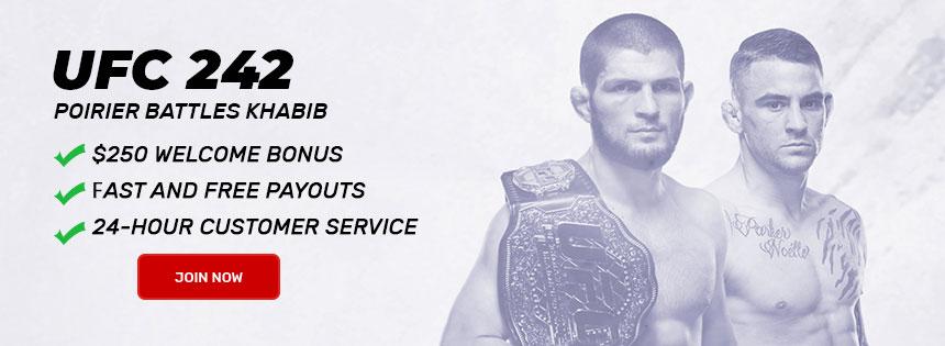 UFC 242 Betting Odds: Khabib Nurmagomedov vs  Dustin Poirier