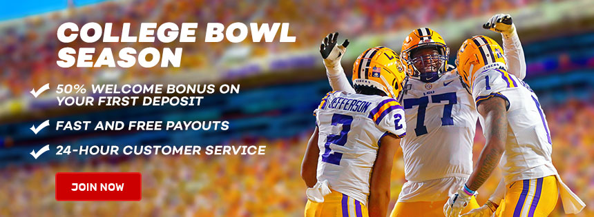 Bet on Bowl Season at Bovada.