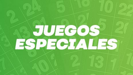 JUEGOS ESPECIALES