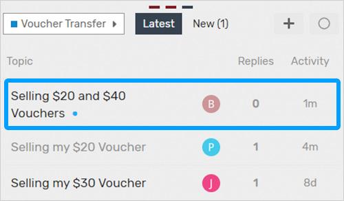 Buy Voucher 1