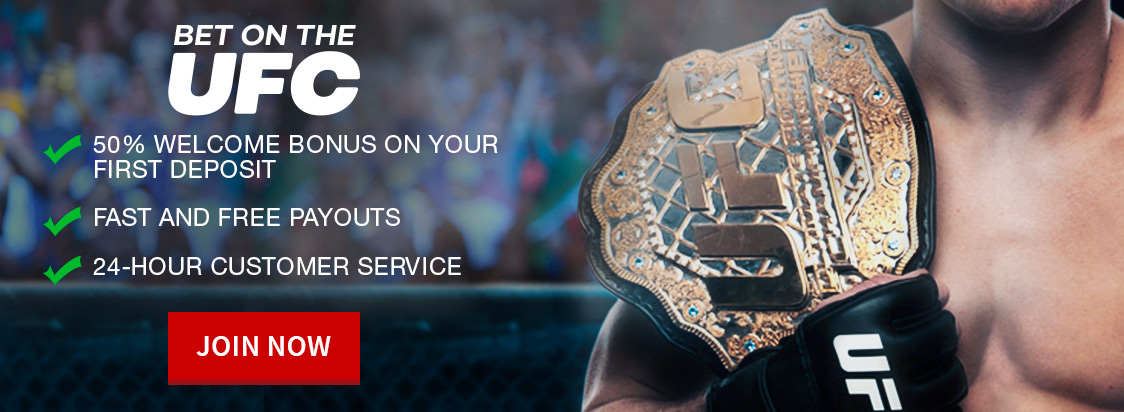 Bet on UFC Odds at Bovada
