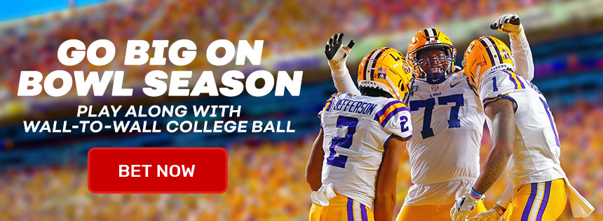 Bet on every game at Bovada during Bowl Season!