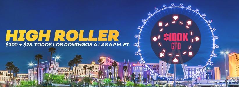 $100 000 High Roller Garantizado