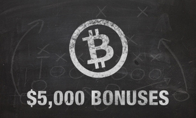$5000 Bitcoin Bonuses at Bovada