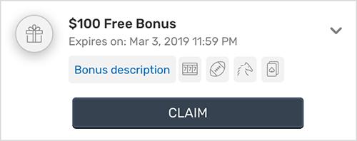 How To Redeem Claim A Casino Bonus Help Section Bovada Casino