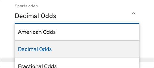 Image - Decimal Odds - Change - EN