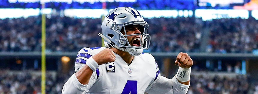 The Cowboys try to get back in the NFC East race versus the Eagles.