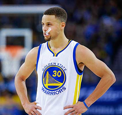 Bet on 2021 NBA odds where Steph Curry returns!