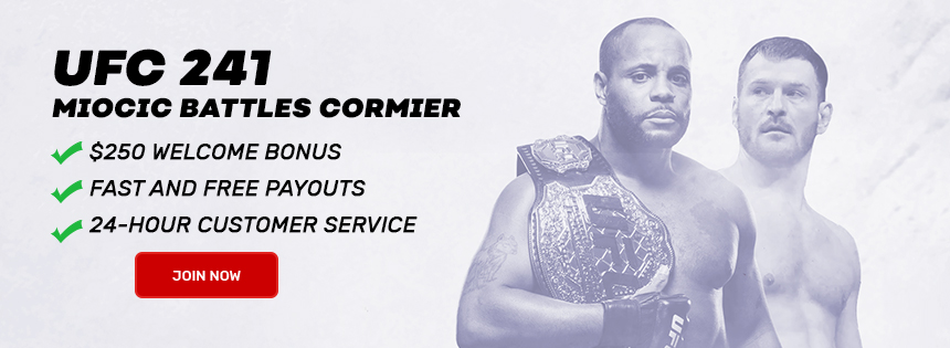 Join Now and Bet on UFC 240