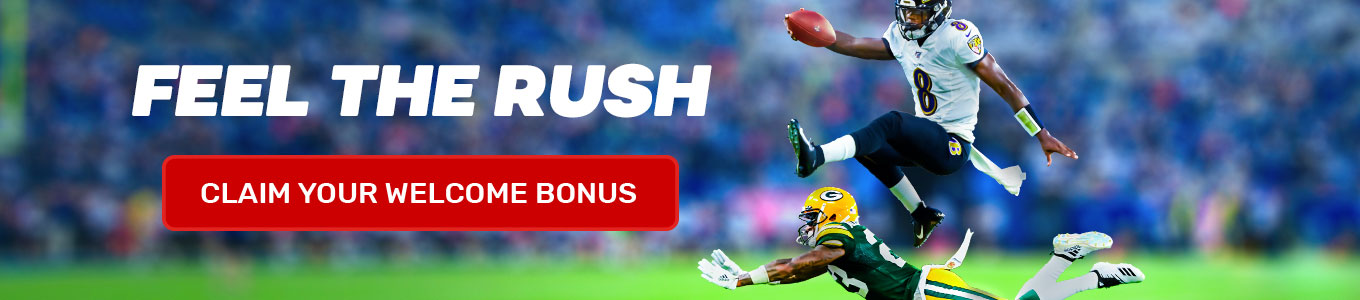 Join and claim your welcome bonus and bet on the NFL.
