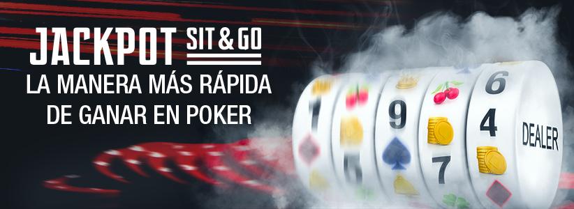 Más información sobre Jackpot Sit & Go en Bovada.