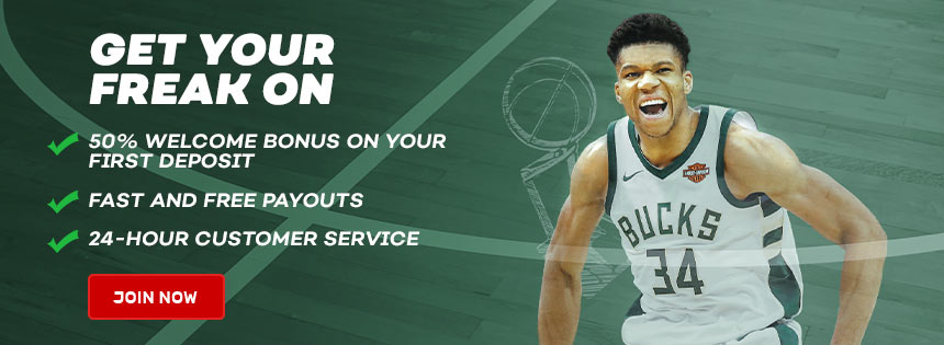 Join Bovada for the NBA Playoffs for a 50% bonus