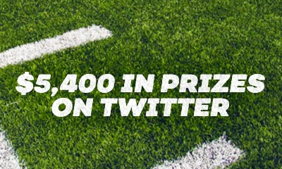 Win $5,400 in Prizes on Bovada Twitter!