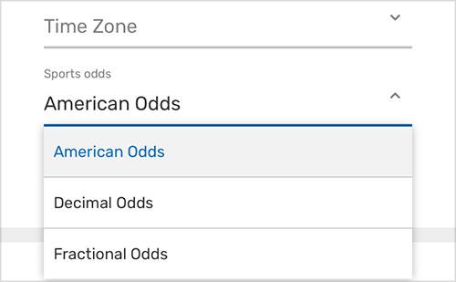 american-odds