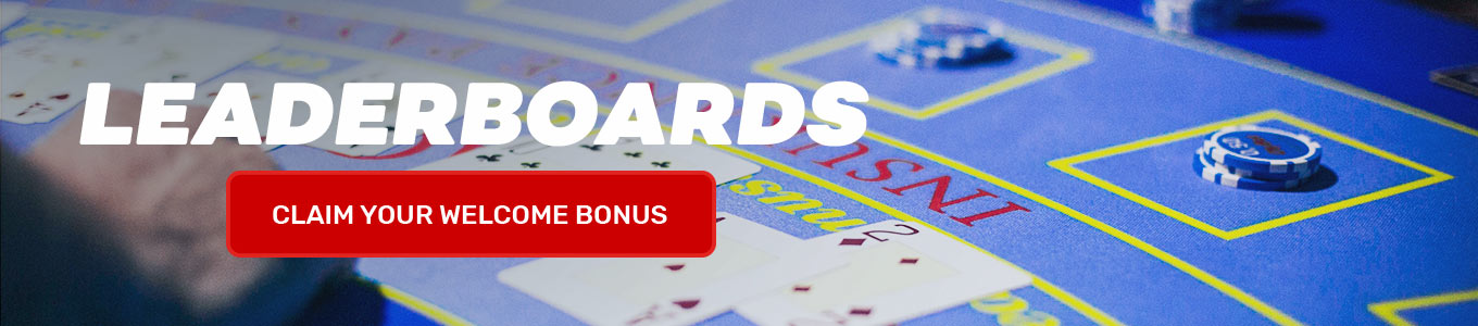 Leaderboards: Claim your welcome bonus now