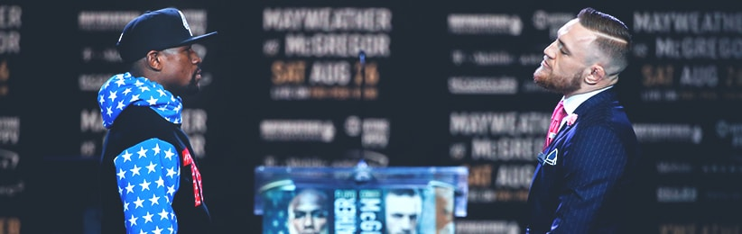 Bet on Mayweather vs. McGregor Betting Props at Bovada