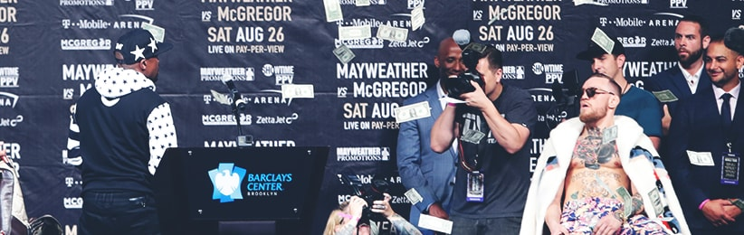 Betting Options for Mayweather-McGregor - Bovada Sportsbook