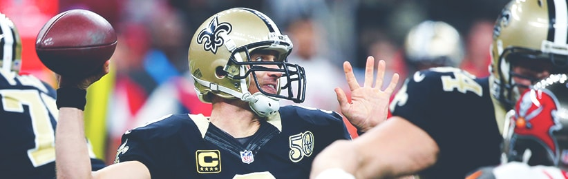 Brees Favored to Lead NFL in Passing Yards - Bovada Sportsbook
