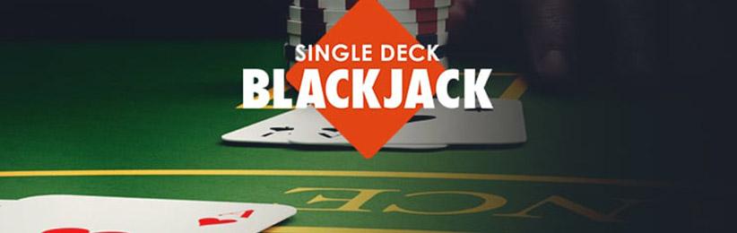 Single Deck Blackjack Guide - Bovada Casino