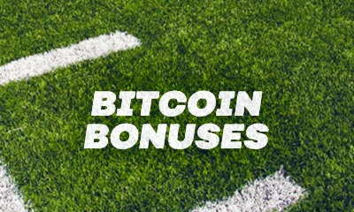 Get the best Super Bowl bonuses by depositing with Bitcoin!