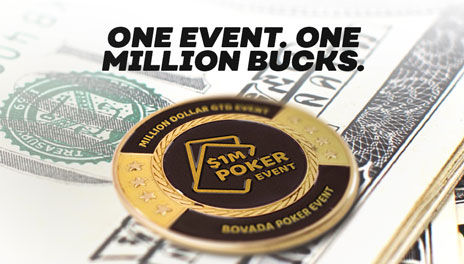 Learn more about Bovada's Million Dollar Event