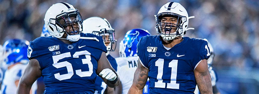 Penn State try to move up the ranks of NCAA Betting for Week 5