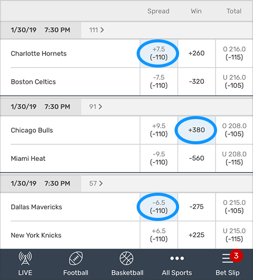 how to make a bet on bovada